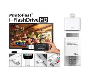Akita 16GB PhotoFast Flash Drive with Adaptor
