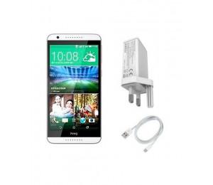 HTC Desire 820 A51 | Single Sim | White + Oraimo Fast Charger