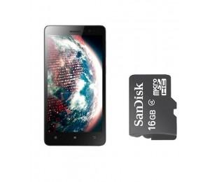 Lenovo S850 | White Plus Oraimo16GB Memory Card