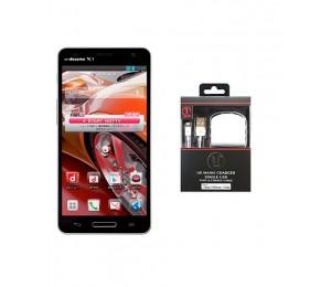 LG Optimus G Pro E988 | Black Plus Unique USB Sync and Charger Cable