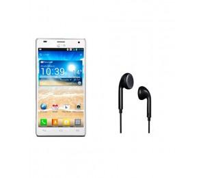 LG Optimus 4X P880 | White Plus Universal Earpiece