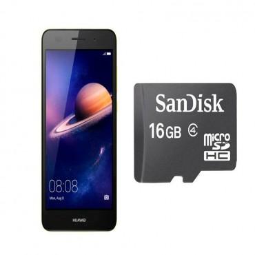 Huawei Y6II | Gold + Sandisk 16gb Memory Card
