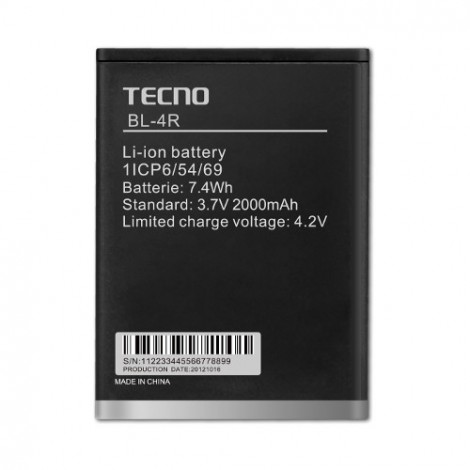 Tecno BL 4R Battery