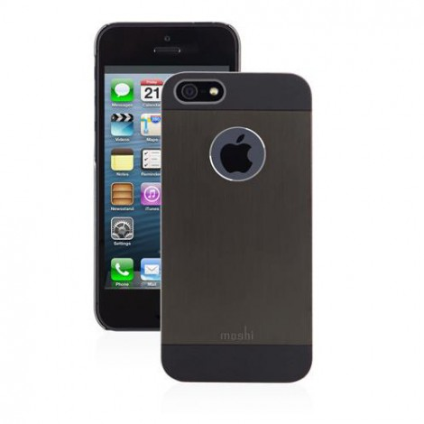 Moshi iGlaze for iPhone 5/5s | Graphite Black
