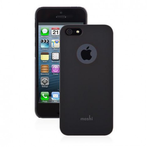 Moshi iGlaze Armour Metal Case for iPhone 5/5s   Black