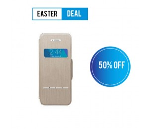 Moshi SenseCover for iPhone 5/5s | Brushed Titanium