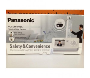 Panasonic Wireless Door Camera | VL-SDM100BX