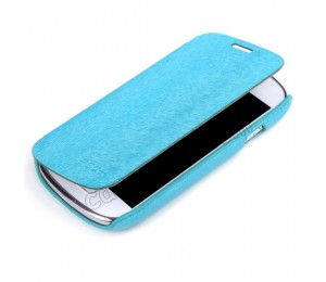 Samsung S3 Mini Flip Cover | Light Blue