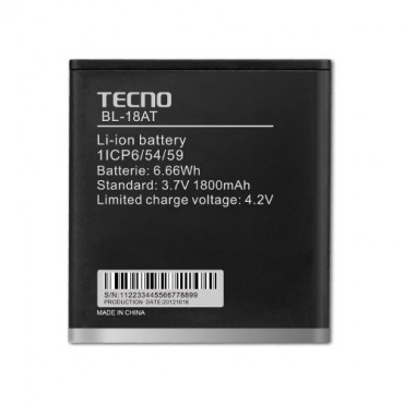Tecno BL 18AT Battery