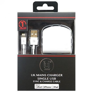 Uunique USB Sync and Charge Cable | Black