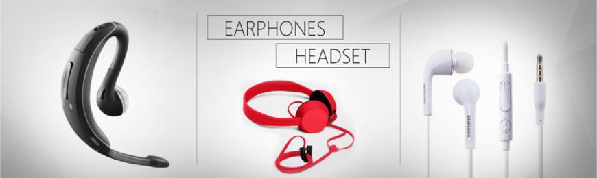 Headset Earphones Category